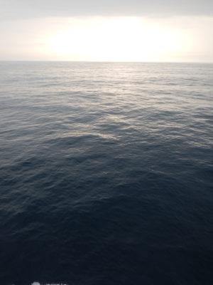 キレイな海と空