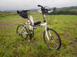 自転車で佐久へ戻る