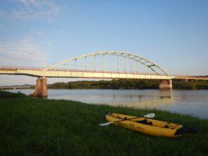 夕方の天塩大橋