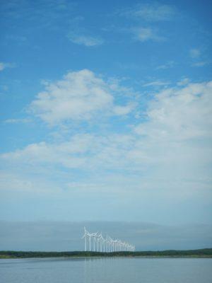 27機の風車を後にする
