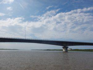 天塩川最後の橋 河口大橋