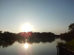 細岡の夕陽