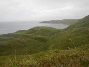 スコトン岬を振り返る