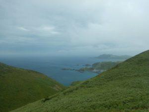 ハゲ山からの眺め