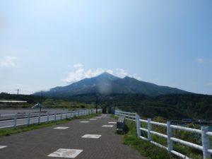 野塚展望台からの利尻山